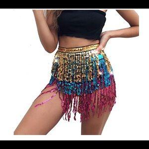 Dresses & Skirts - Belly dance festival skirt. NWOT